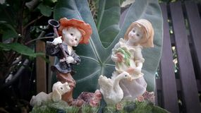 Bonecas do Valentim Imagem de Stock Royalty Free