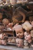 Bonecas em uma exposição em Roma, Italia Fotos de Stock