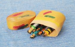 Bonecas guatemaltecas da preocupação Foto de Stock Royalty Free