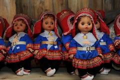 Bonecas norueguesas fotografia de stock