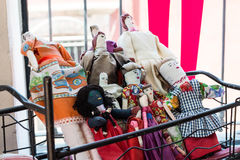 Bonecas tradicionais bonitas mexicanas imagem de stock royalty free