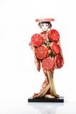 Bonecas tradicionais de mulheres de Japão Foto de Stock Royalty Free