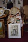 Bonecas velhas fotografia de stock