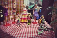 Bonecas vestidas no pano tailandês Foto de Stock Royalty Free
