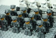 Boneco de ação de primeira ordem do exército dos soldados de tempestade Fotos de Stock Royalty Free
