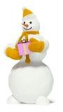 Boneco de neve Fotografia de Stock