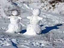 Boneco de neve Foto de Stock