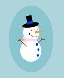 Boneco de neve ilustração stock