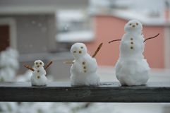 Boneco de neve imagem de stock