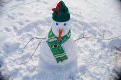 Boneco de neve brasileiro Imagens de Stock