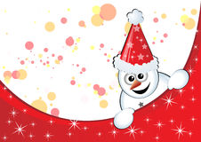 Boneco de neve de Beneria Fotografia de Stock