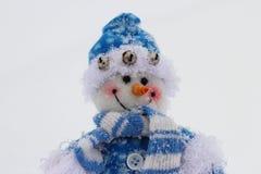 Boneco de neve do brinquedo Imagem de Stock Royalty Free