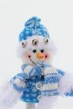 Boneco de neve do brinquedo Fotos de Stock Royalty Free