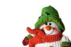 Boneco de neve do brinquedo Imagens de Stock