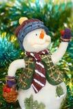 Boneco de neve do Close-up Fotos de Stock