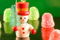 Boneco de neve do Gumdrop Foto de Stock