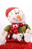 Boneco de neve do Natal imagens de stock royalty free