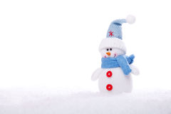 Boneco de neve do Natal Fotos de Stock Royalty Free