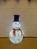 Boneco de neve do Natal Foto de Stock Royalty Free