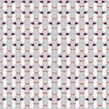 Boneco de neve do teste padrão no Natal Fotografia de Stock