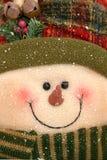 Boneco de neve enchido Imagem de Stock