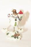 Boneco de neve engraçado Imagem de Stock