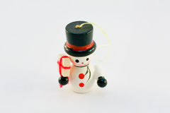 Boneco de neve isolado Imagens de Stock Royalty Free