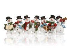 Bonecos de neve Imagem de Stock Royalty Free