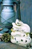 Bonecos de neve Fotos de Stock Royalty Free