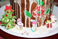 Bonecos de neve do açúcar Imagem de Stock Royalty Free