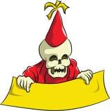 Bonehead празднует партию Нового Года Стоковая Фотография RF