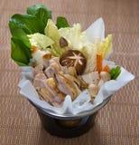 Boneless Chicken Hotpot Stock Images