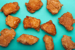 Boneless chicken wings Stock Photography