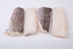 Boneless hake steaks Stock Photo