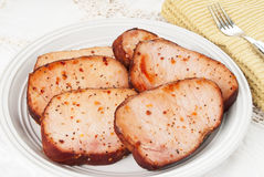 Boneless Pork Chops Stock Photos