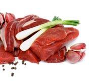 Boneless Raw Beef Royalty Free Stock Images