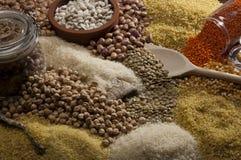 Bonen, kuiken, voedsel Royalty-vrije Stock Foto