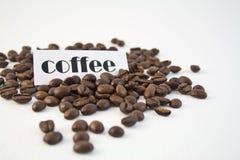 Bonen van de koffie 1 Stock Afbeeldingen