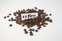 Bonen van de koffie 2 Royalty-vrije Stock Afbeelding