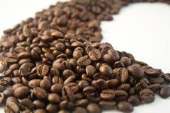 Bonen van de koffie 9 Stock Foto