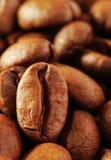 Bonen van de koffie drie Stock Foto's