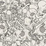 Bones background Stock Photos