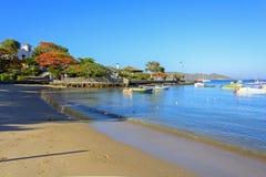 Bones beach. Ossos beach in Buzios, Rio de Janeiro Stock Photos