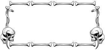 Bones frame Royalty Free Stock Photo