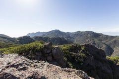 Boney Mountain in Santa Monica Mountains National Recreation Are Stock Photos