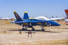 Boneyard авиационной базы ВВС AMARG davis-Monthan в Tucson, Аризоне Стоковая Фотография RF