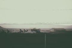 Boneyard стоковое изображение rf
