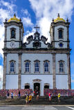 Bonfim Kirche Lizenzfreies Stockfoto