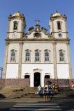 Bonfim kyrka i Salvador da Bahia, Brasilien Royaltyfri Bild