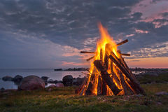 Bonfire Stock Images